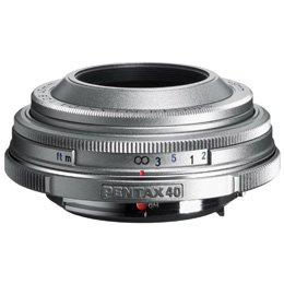 Pentax 40Mm F/2.8 SMCP-DA Limited Series Lens (Silver)