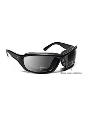 eaab8068a69 Product Image 7eye 240141D Derby Sharp View Gray Plus 2.00 Reader Sunglasses