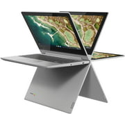 "Lenovo - Chromebook Flex 3 11"" MTK 2-in-1 11.6"" Touch Screen Chromebook - MediaTek MT8173C - 4GB Memory - 32GB eMMC Flash Memory - Platinum Grey"