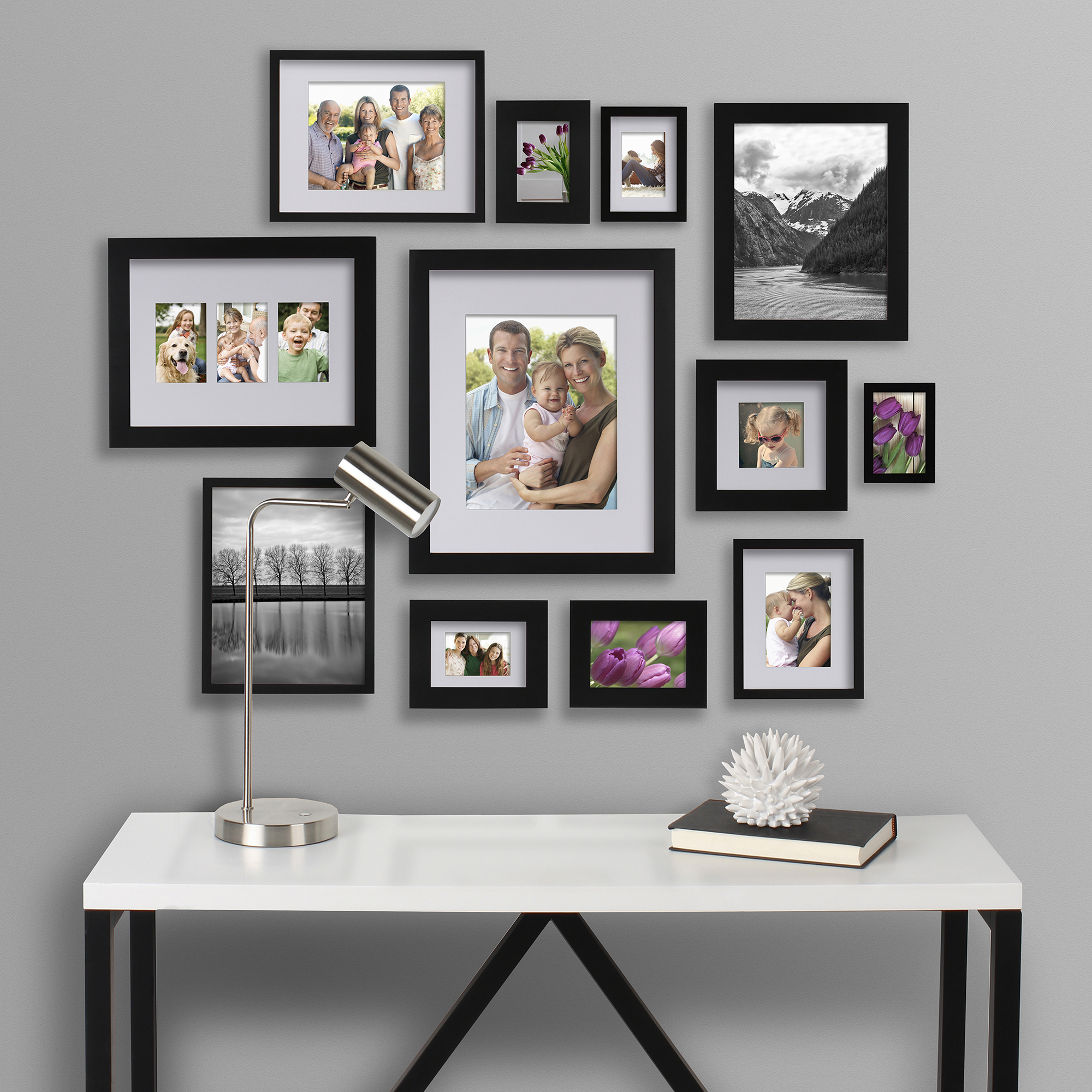 Better Homes And Gardens Black Picture Frame 16 X 20 Matted To