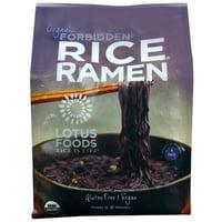 Lotus Foods Organic Rice Ramen Noodles Forbidden -- 10 oz pack of 1