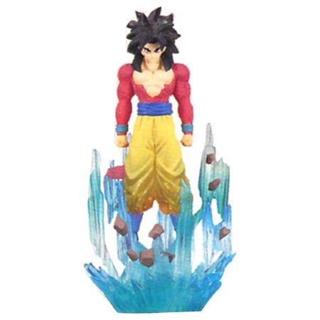 Dragonball Z Gt Ultimate Spark Trading Figure: Goku SS4 ()