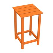 POLYWOOD® Long Island Recycled Plastic 26H in. Outdoor Side Table