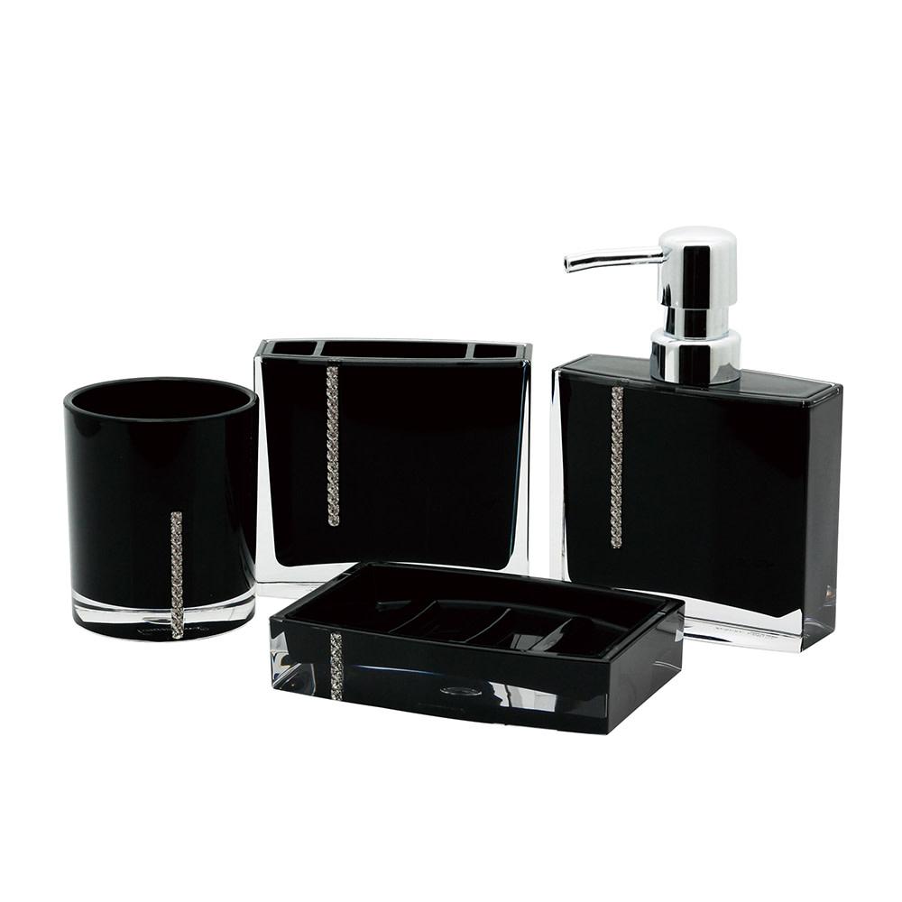 Kingston Brass Reef 4-Piece Bathroom Accessory Set
