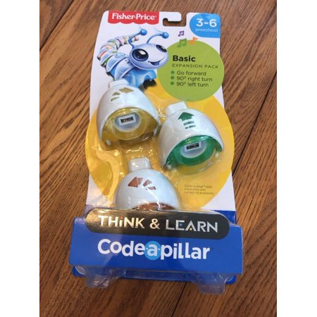 New Fisher Price Think & Learn Code a Pillar BASIC Expansion Set Ships N 24h