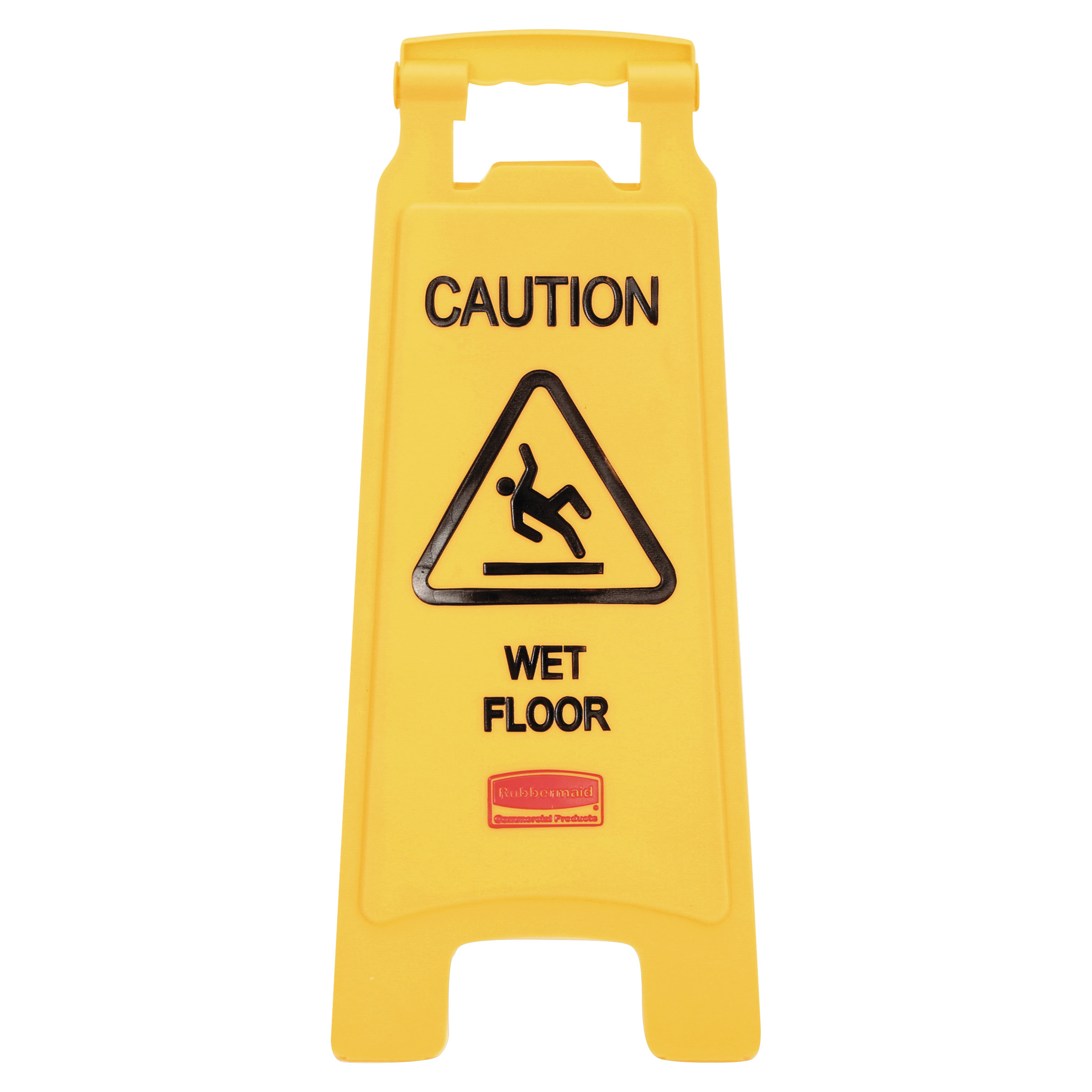 Wet floor signs gurus floor for Floor banner