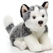 Husky Small 9 inches - Dog & Puppy Stuffed Animal by Nat and Jules (00032)