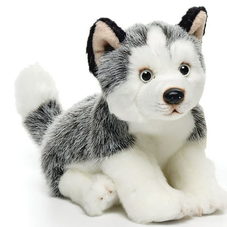 Husky Small 9 inches - Dog & Puppy Stuffed Animal by Nat and Jules (00032) (Stuffed Animal Puppies)