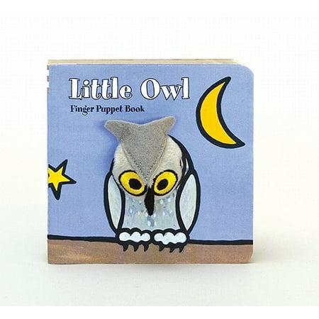 Edward The Owl (Little Owl Finger Puppet Book (Board)