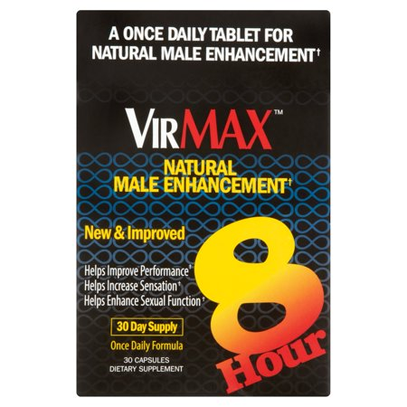 VirMax Natural Male Enhancement Capsules, 30 count
