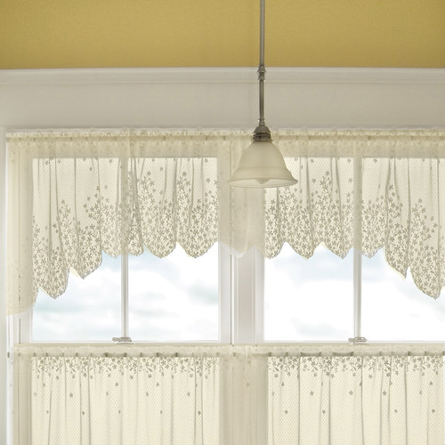 Heritage Lace Blossom 48'' Curtain Valance