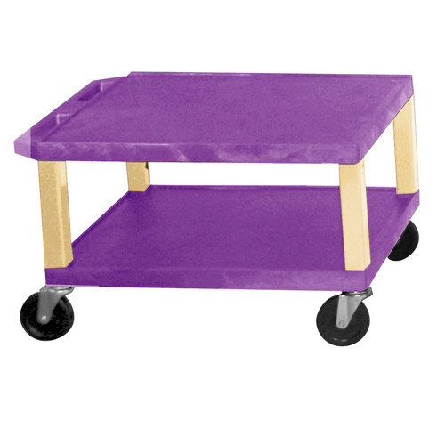 H. Wilson Company Tuffy Two Shelf Utility Cart