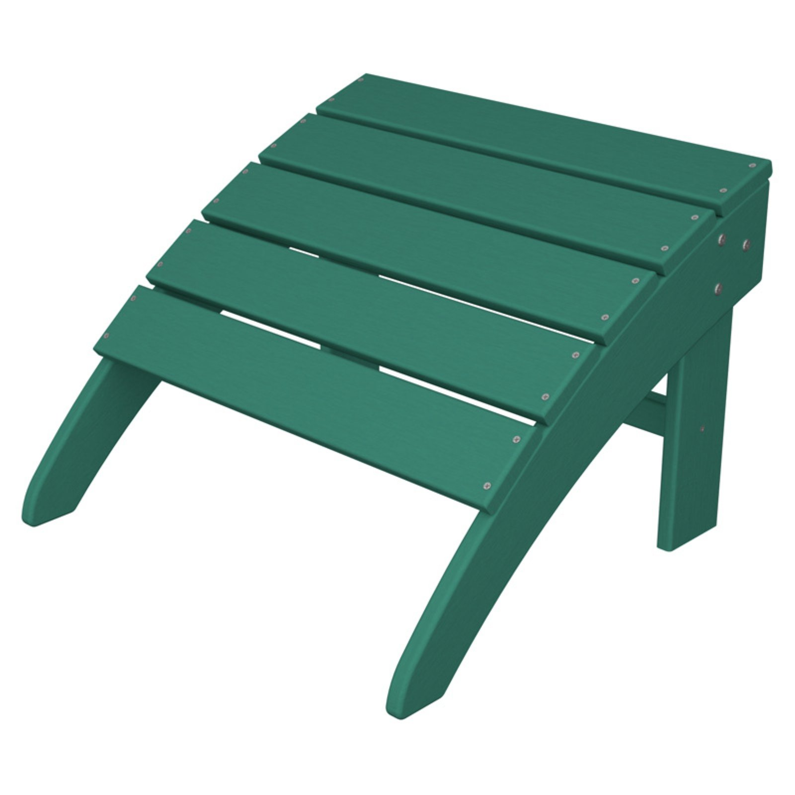 POLYWOOD® South Beach Recycled Plastic Adirondack Ottoman