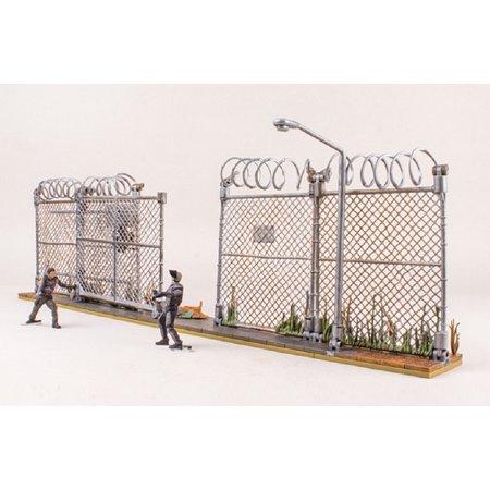 Mcfarlane Toys The Walking Dead Amc Tv Series Prison Gate   Fence Building Set  14556 192 Pcs