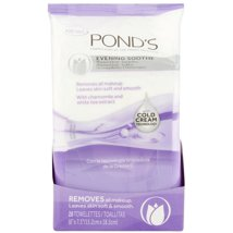 Facial Cleansing Wipes: Pond's Evening Soothe Wipes