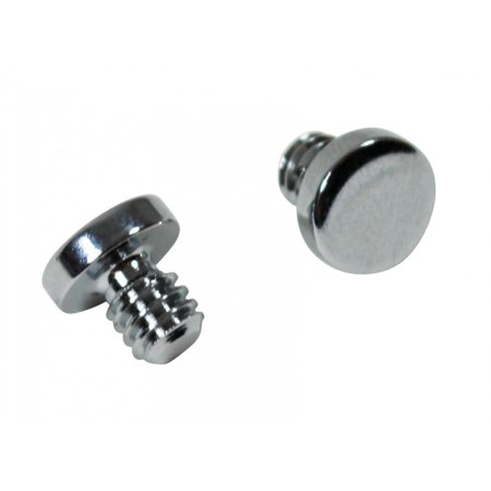 - Door Hinges Bright Chrome Medium Coin Hinge Finial Pair | Renovators Supply