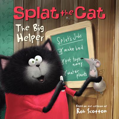 Splat the Cat: The Big Helper](Splat The Cat Halloween Book)