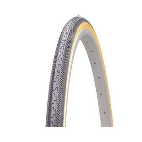 Kenda Hp-90psi K36 Road Bicycle Tire (Black/Gum Sidewall - 27 x 1 1/8)
