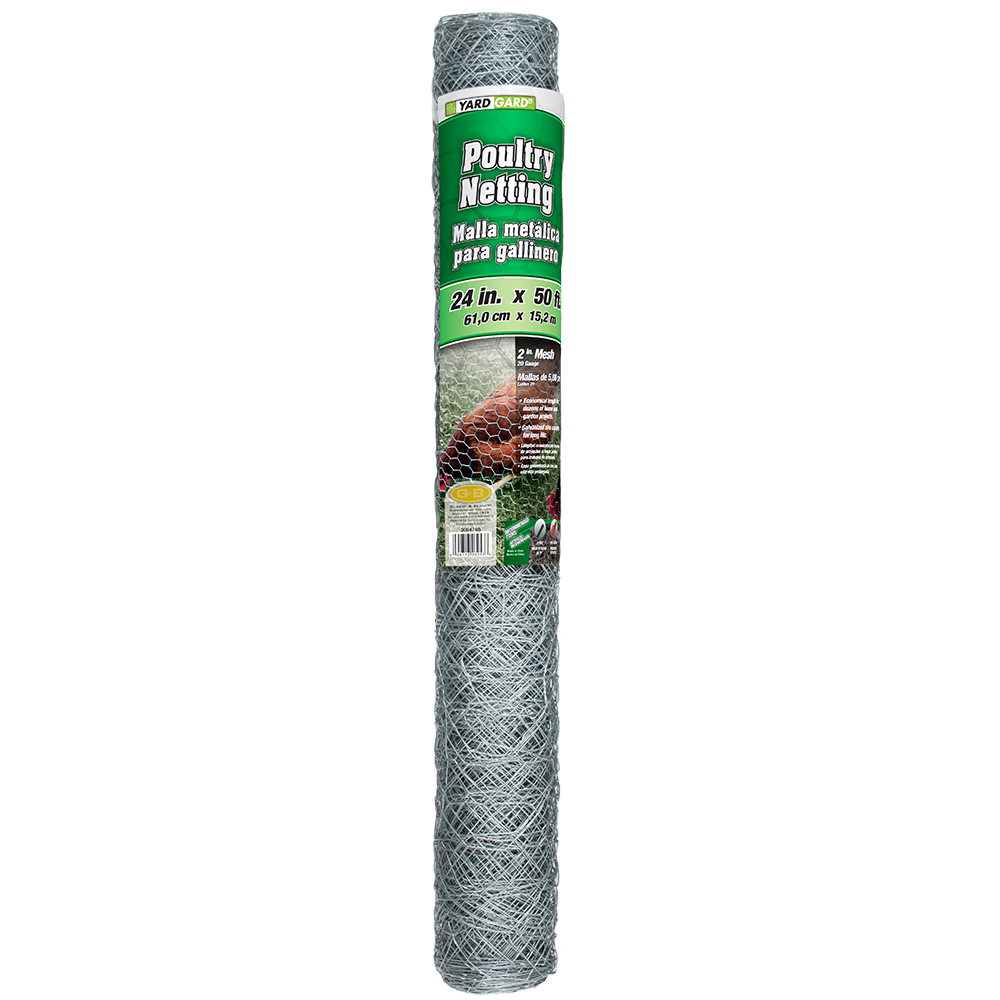 YARDGARD 2 Foot X 50 foot 2 Inch Mesh Poultry Netting