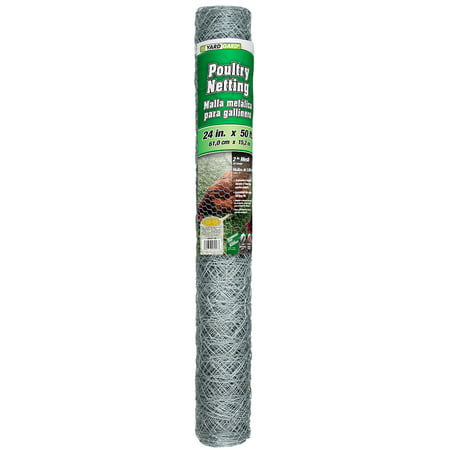 Industrial Netting (YARDGARD 2 Foot X 50 foot 2 Inch Mesh Poultry Netting )