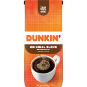 Dunkin' Donuts Original Blend Ground Coffee, Medium Roast, 12-Ounce