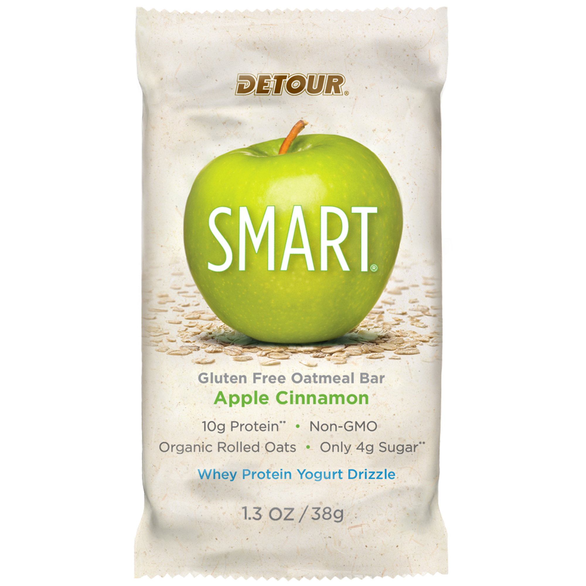 Detour SMART Cookie Dough Gluten Free Oatmeal Bar, 1.3 oz, 1 Count by Forward Foods LLC