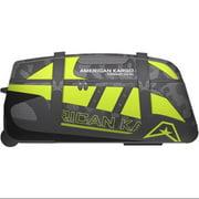 American Kargo Gear Bag Roller Hi-Vis Yellow/Black LG