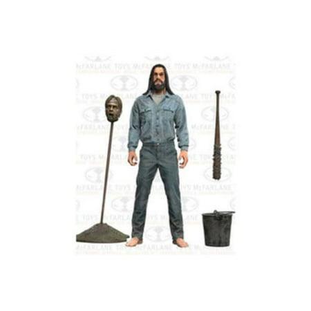 Mcfarlane Walking Dead Series 5 Negan Action Figure  Imprisoned