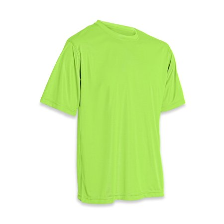 Performance T-Shirt Neon Green size as