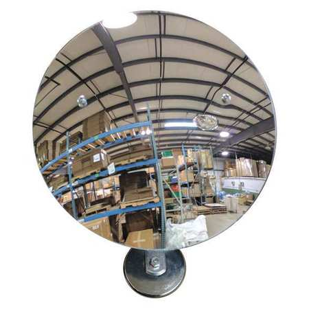 Indoor Convex Mirror, See All Industries, TPLX18MAG