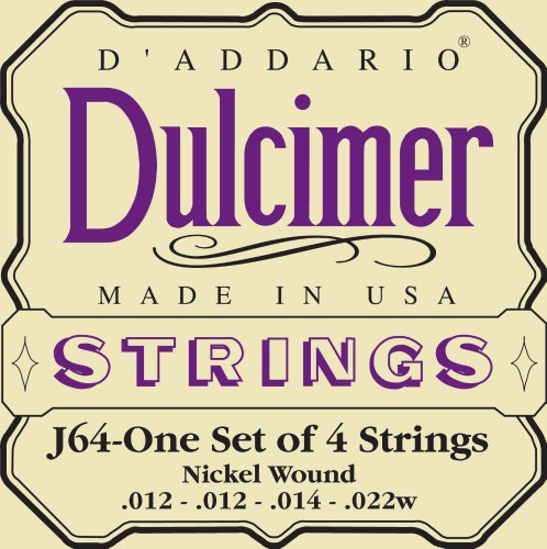 Dulcimer Stg Set Nickel by D'Addario