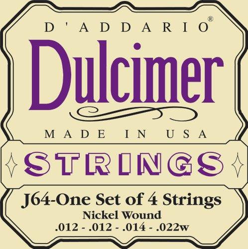 Dulcimer Stg Set Nickel by