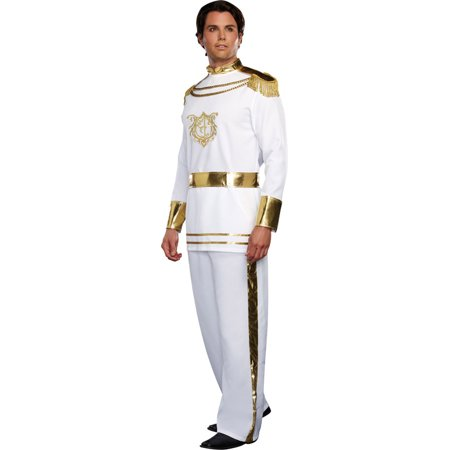 Morris Costume Mens Long Sleeve Fairytale Prince Polyester Costume XL, Style - Fairytale Couples Halloween Costumes