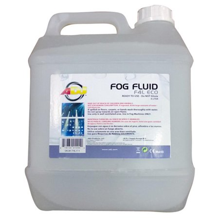 American DJ ADJ ECO-FOG 4 Liters of Fog/Smoke/Haze Machine Liquid Juice F4L ECO - Smoke Machine Walmart