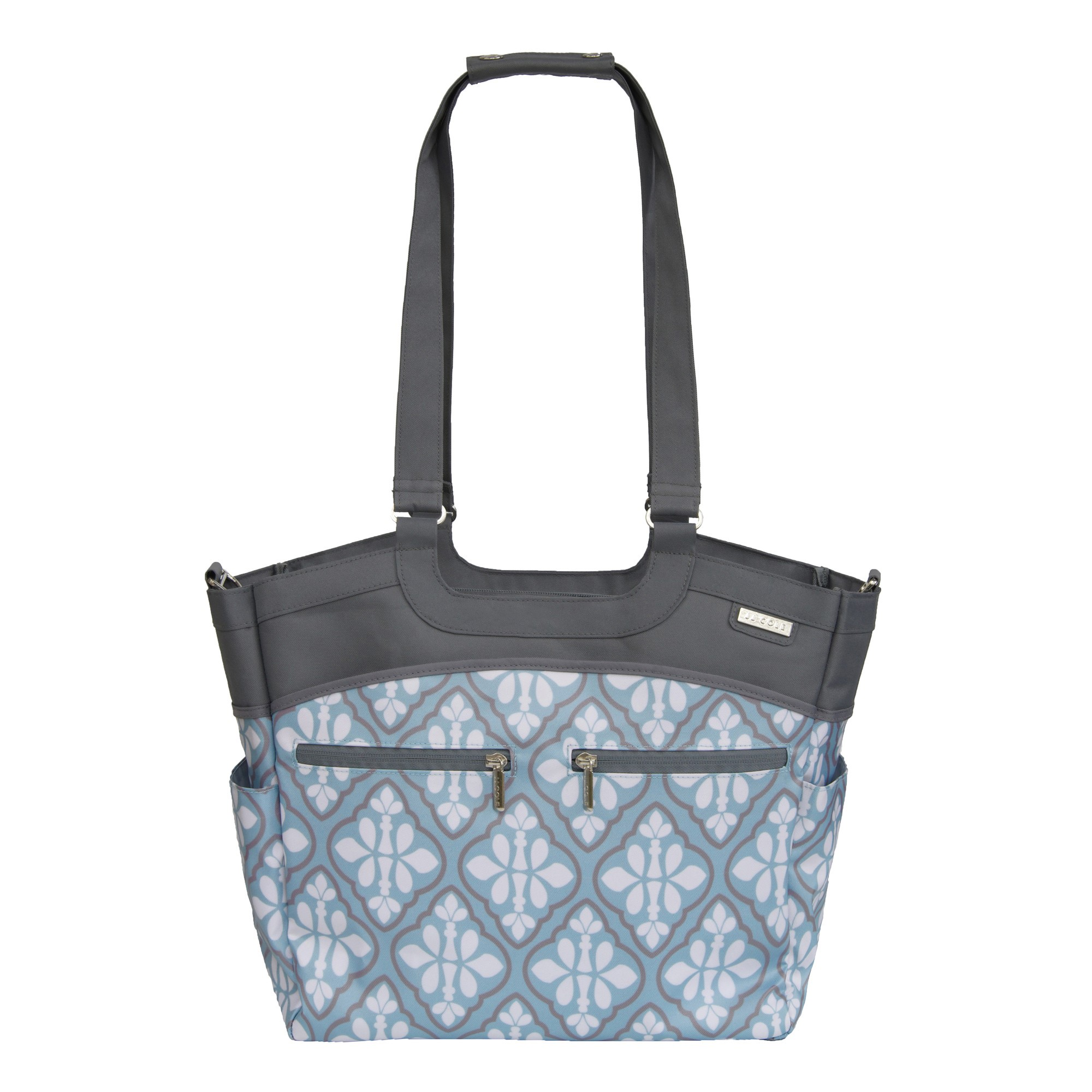 JJ COLE Camber Diaper Bag - Blue Iris
