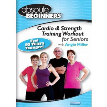 ABSOLUTE BEGINNERS-CARDIO & STRENGTH TRAINING WORKOUT FOR SENIORS (DVD)