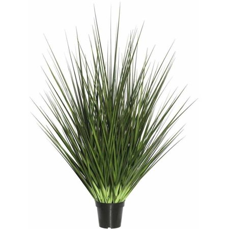 "Vickerman 24"" Artificial Potted Green Grass"
