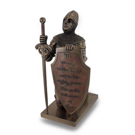 Templar Knight Be Strong In The Lord Bronze Finish