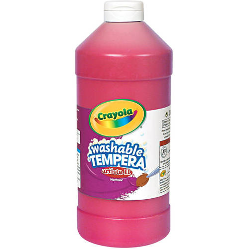 Crayola Artista II Washable Tempera Paint, 32 oz