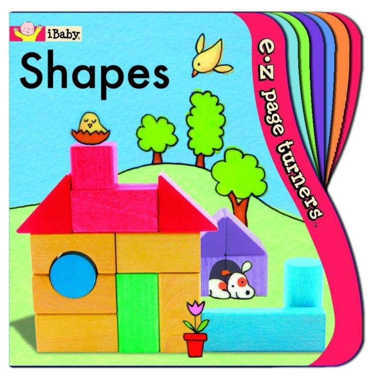 E-Z Page Turners: Shapes (Perfect for Little Fingers!)