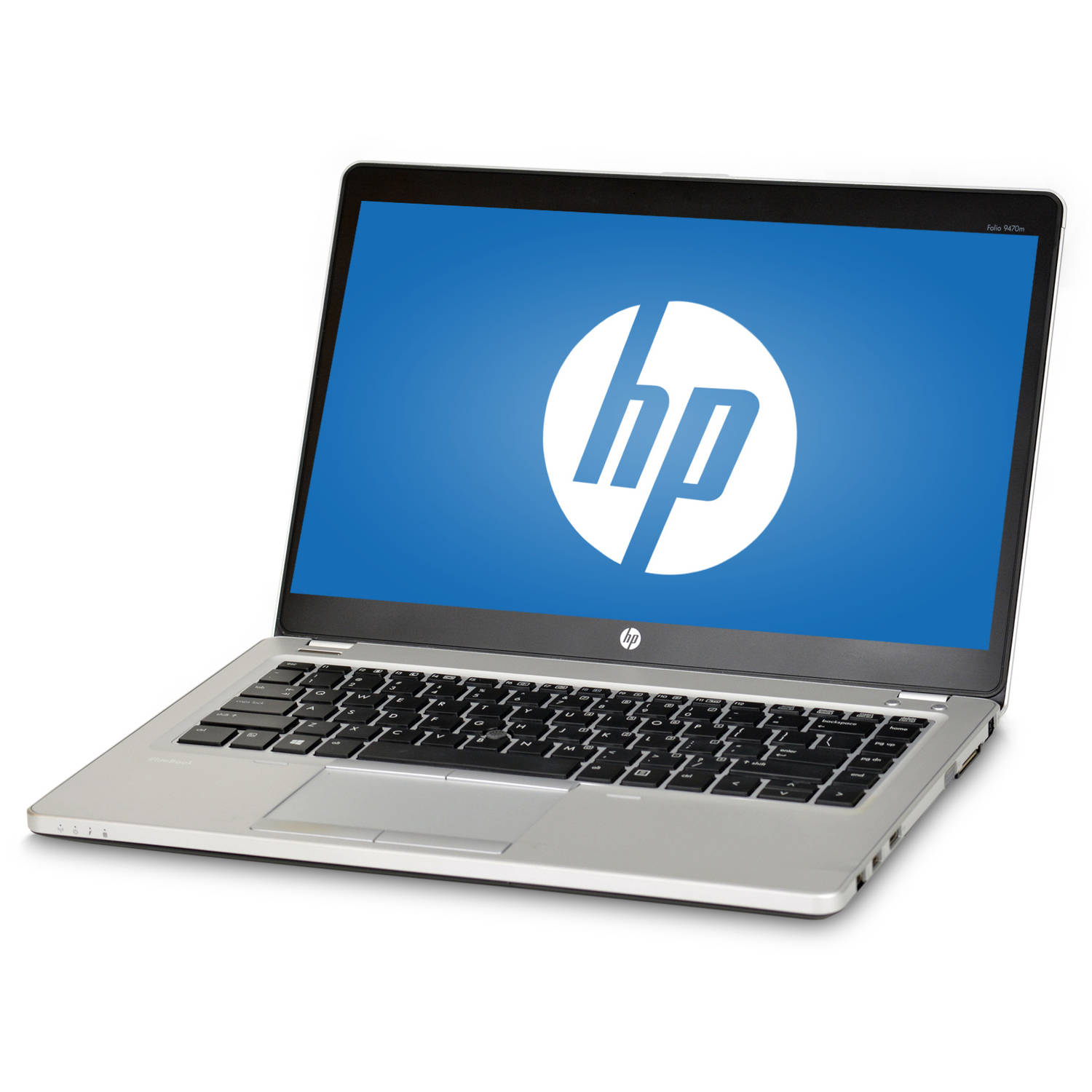 Refurbished HP EliteBook Folio 9470M 14 Laptop, Windows 10 Pro, Intel Core i7 - 3667U Processor, 8GB RAM, 240GB Solid State Drive