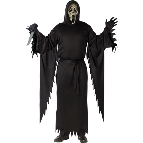 Scream Zombie Ghost Face Adult Halloween Costume