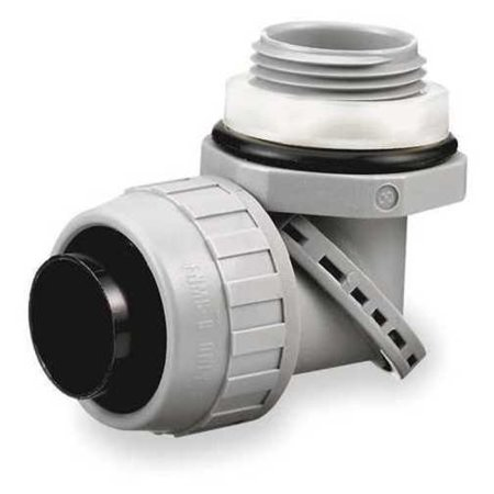 Insulated Connector, 3/4 In., Nylon, 90
