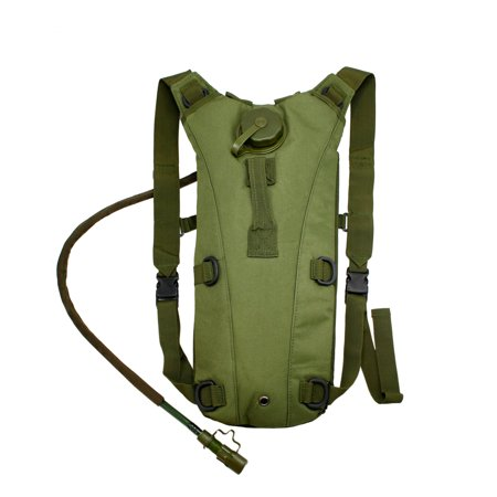 2L Hydration System Climbing Survival Hiking Pouch Backpack Bladder Water