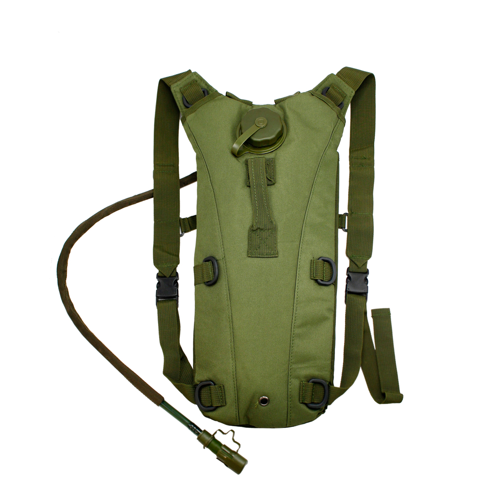 2L Hydration System Climbing Survival Hiking Pouch Backpack Bladder Water Bag