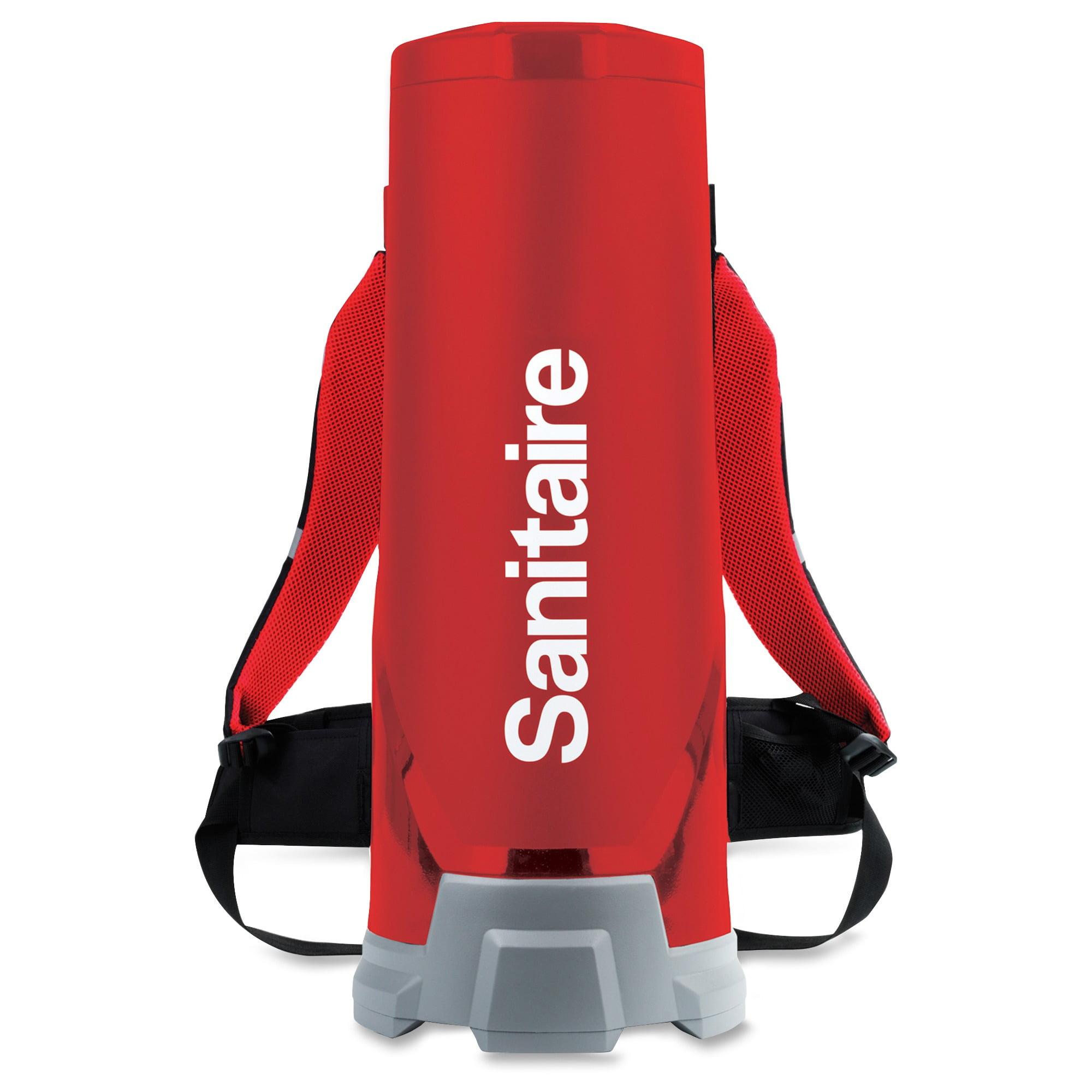 Sanitaire 10q Backpack Vacuum - 1.50 Gal - Red (530b)