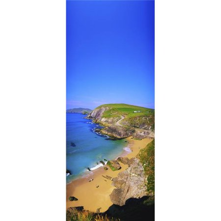 Coumeenoole Beach Dingle Peninsula Co Kerry Ireland Poster Print by The Irish Image Collection, 18 x 44 - Large - image 1 of 1