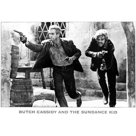 Butch Cassidy And The Sundance Kid  1969  11X17 Movie Poster