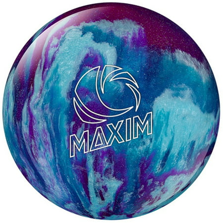 Ebonite Maxim Bowling Ball- Purple/Royal/Silver- 8