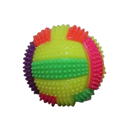 LED Spiky Ball Bouncy Antistress Toy Footballs Men Women Adults Teens Children Fidget Toys Stress -